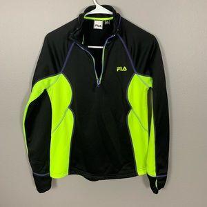 Fila Sport Black Athletic Jacket